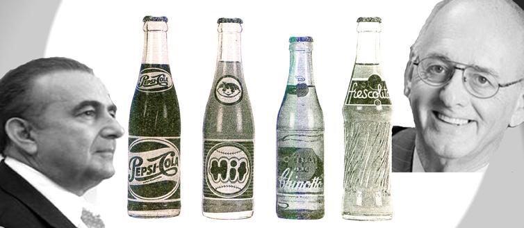 """En 1939, Pepsi Cola Internacional otorgó la concesión del refresco a Antonio Cisneros. Su hermano Diego Cisneros pronto se incorporó a la nueva empresa. 57 años después, los herderos, Gustavo Cisneros Rendiles y Oswaldo Cisneros Fajardo, envueltos en la conocida """"Guerra de las Colas"""" toman partido por la archicompetidora Coca Cola"""