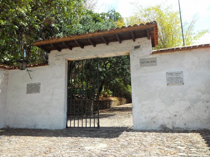 Entrada a la Quinta Anauco, San Bernardino, patrimonio histórico y cultural de Venezuela