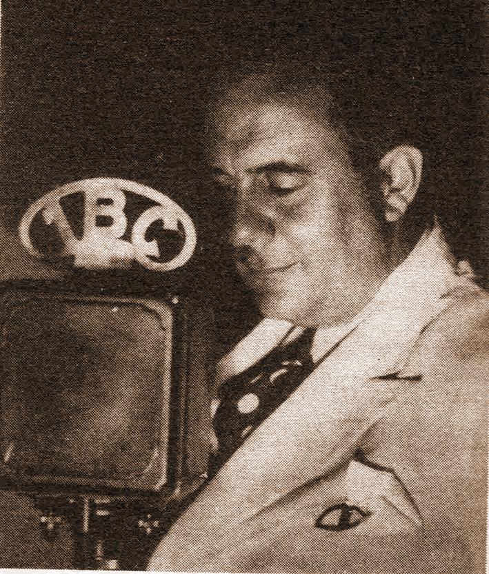 Edgar J. Anzola, una de las primeras voces de 1BC, hoy RCR 750 AM